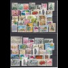 China: Restposten Briefmarken, **/ */ o, auf Steckkarten, a lot stamps, lot 144