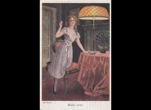 Ansichtskarte Kunst 1918: Galerie Münchner Meister nach Halbflottille