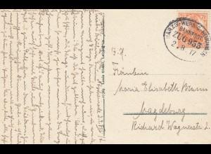 Ansichtskarte WernigerodeBahnpost: Harzb-Wernig.-Heudeber 1917