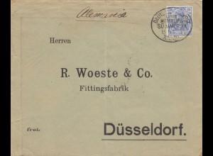 Buenos Aires, Kaiserl. Konsulat 1903. Schiffspost Hamburg-Südamerika