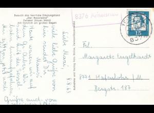 Ansichtskarte Zwiesel, Arnestried über Teisnach 1963