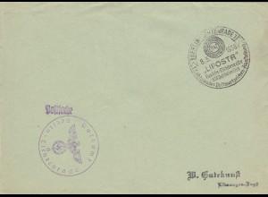 Postsache Kuvert 1938: Berlin Lichtenrade Postwertzeichen Ausstellung