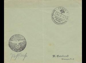 Postsache Kuvert 1937: Essen Sparkassen- und Kommunalbankentag