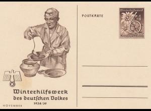 Ganzsache Winterhilfswerk 1938/39
