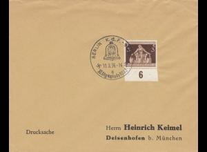 Postsache Kuvert 1936: Berlin KdF, XI. Olympiade