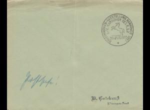 Postsache Kuvert 1937: Briefmarken Ausstellung Hannover