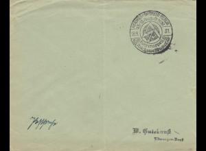 Postsache Kuvert 1937: Reischssportfeld Berlin: Führerappell Reichswettkampf - Sonderstempel
