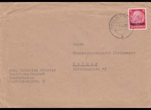 1941: Lothringen Riegelsberg nach Weimar