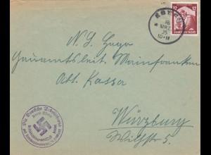 1935: Deutsche Arbeitsfront (DAF) Kreis Ebern nach Würzburg, Kreisbetriebsgemeinschaft