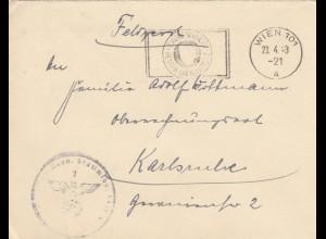 FP 1943, Wien/Karlsuhe- Eigene Vorsicht bester Unfallschutz, Stalag XII B, Krems