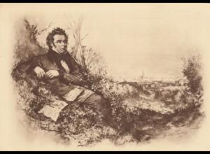 Ansichtskarte Franz Schubert, 1928