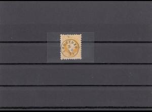 Briefmarke 1877, Langenau, Bö