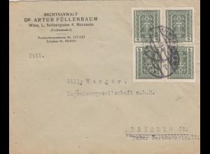1922: Wien nach Dresden, MeF