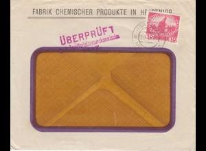 1916: Fabrik chemischer Produkte, Hrastnigg, Zensurkommission Graz