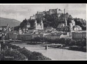 Ansichtskarte Salzburg 1938 nach weimar, Werde Mitglied der NSV, Hilfsverein
