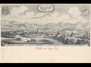 Ansichtskarte Villach, Loosdorf