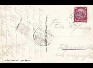 1939: St. Gallen, Ansichtskarte Gargellen-Alp, nach Valparaiso/Chile
