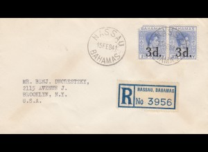 Registered Bahamas: Nassau 1941 to Brooklyn