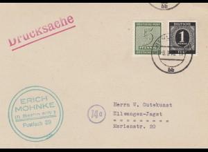 BiZone: 1946 Drucksache Berlin nach Ellwangen-Jagst
