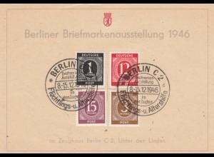 Berliner Briefmarkenausstellung 1946, Flüchtlings- und Altershilfe