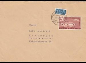 Brief Freiburg 22.11.1949 nach Karlsruhe