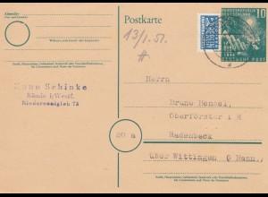 Ganszache 1951 von Bünde nach Radenbeck