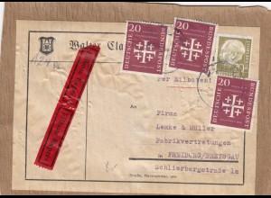 Adressteil Paket, Eilbote aus und nach Freiburg