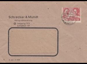 Brief 1949 Leipzig