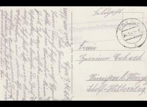 Ansichtskarte Eger, Fleigerausbildungsbataillon 1940