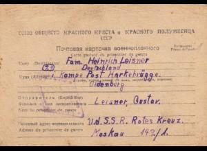 5x PoW UDSSR, 1946/47, versch. Lager nach Harkebrügge, Kampe