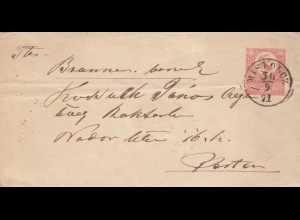 2 Belege Slowenien, Schemnitz etc. um 1870