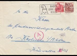1944: Basel to Karlsruhe, OKW Zensur