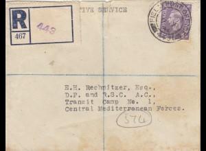 1946: Registered Field post service, RAF