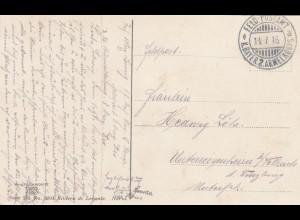 1916: Ansichtskarte Feld Postamt Italien, K. Bayer. 2. Armee Korps