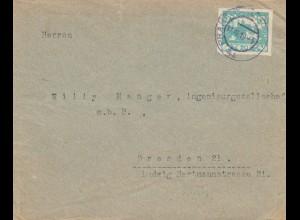 1919: Prag nach Dresden