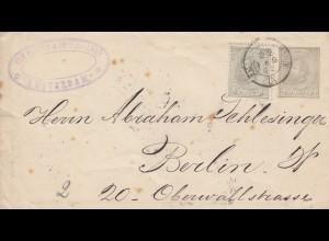 1892: Amsterdam nach Berlin