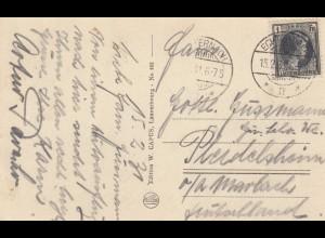 1931: Echternach Luxembourg nach Pleidelsheim