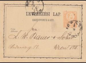 1886: 3x post card Budapest