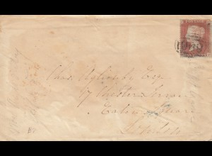 1858: letter Penrith to London