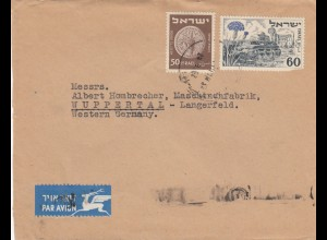 air mail Tel Aviv to Wuppertal