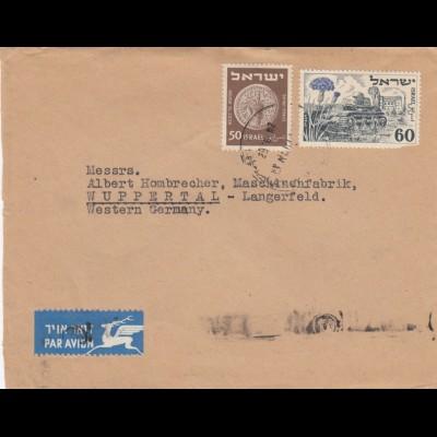 air mail Tel Aviv to Wuppertal