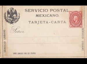 2x Servicio Postal Mexicano, unused