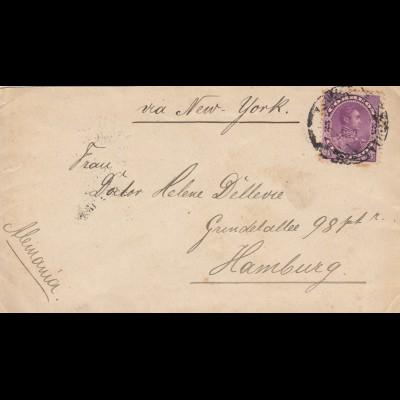 Maracaibo 1894 to Hamburg