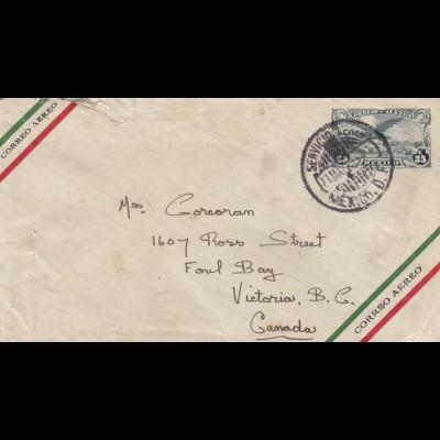 letter 1926 to Foul Bay, Victoria, Canada
