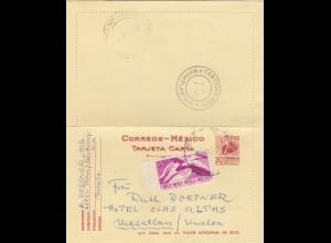 letter 1957 Monterrey to Mazatlan/Sinaloa