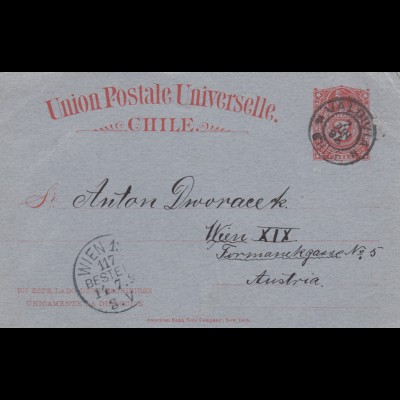 1898: letter Valdiva to Wien