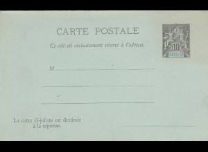 2x carte postale, 1x with answer card, Nossi-Bé