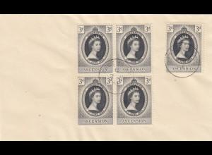 1953: letter Ascension