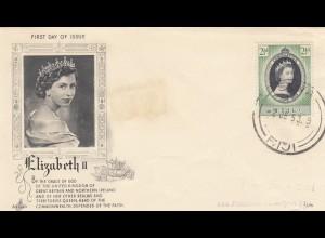 1953: FDC Elizabeth II, Fiji,