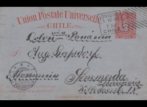 1903: post card Jouioue to Simmerda, Germany